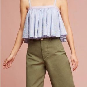 Anthropologie crop tank